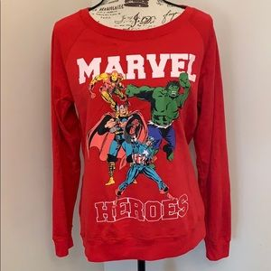 Reversible Marvel Comic Strip Shirt